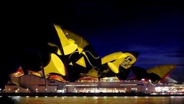 Innovation ... the Opera House is the venue but the audience  can be anywhere in the world.