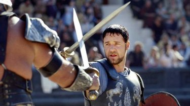 Historical fiction: Movies set in antiquity, like <I>Gladiator</I>, can help students envision the period, says high achiever Lucy Nason, below.