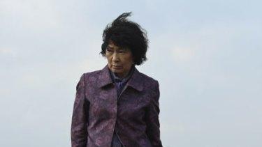 Steely determination...Korean actress Kim Hye-ja is Mother.