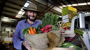 Close to home: Robert Pekin promotes being a locavore through his fresh food business.