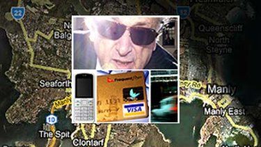 Marcus Einfeld was tracked by police across Sydney using his credit card, mobile phone and e-tag.