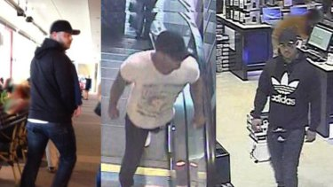 Images of a man police believe may be able to assist them with their inquiries into the shooting at Robina on Saturday, April 28.