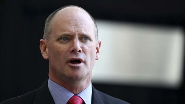 Campbell Newman … no tolerance for ill effects of the industry.