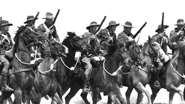 The charge of The Lighthorsemen