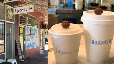 Jujuberry+Co offers coffee below the average at $3.50.