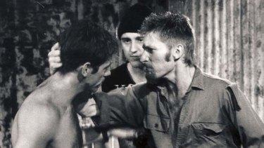 Career-launcher ... David Wenham stars as Brett Sprague in the original 1991 production of The Boys.