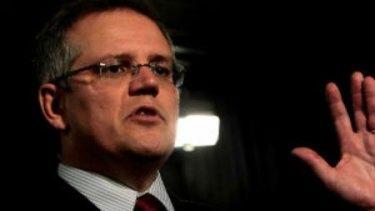 Treasurer Scott Morrison accuses Opposition Leader Bill Shorten of cynical class warfare.