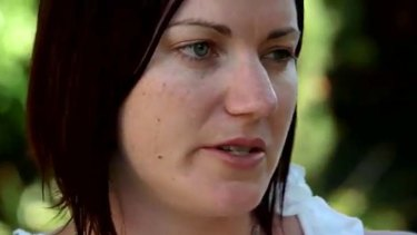 Great medal hope ... Anna Meares, in a screen grab from the advert.