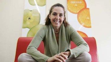 Going worldwide: Boost Juice founder Janine Allis.