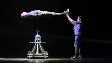 James More's impaling stunt was the most confronting in an otherwise family-friendly show.