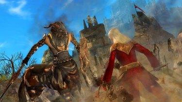 A screenshot from <em>Guild Wars 2</em>.