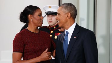 According to Forbes magazine, the Obamas have a net worth of over $US12 million.