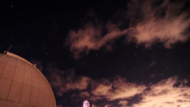 Canberrans are showing unprecedented interest in astronomy. Dr Brad Tucker, astronomer at Mt Stromlo observatory.