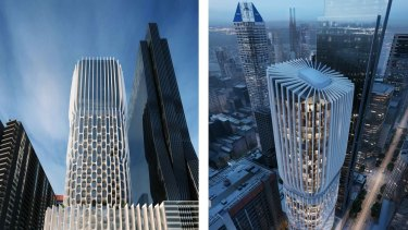 The design for  600 Collins Street has been described as ''generally of a high quality that is visually interesting''.