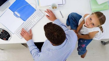 Teleworkers report having more time to spend with the family and increased productivity.