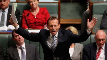 Opposition Leader Tony Abbott has staked his political career on beating the carbon tax.