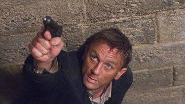 Secret man's business ... Daniel Craig, as James Bond, keeps up the good work.