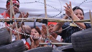 Red Shirts ... Bangkok protests could soon be over.