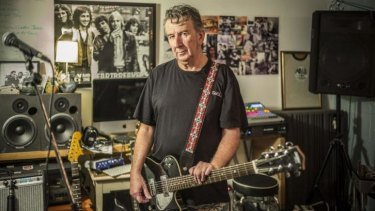 Musician John Willsteed in Brisbane.