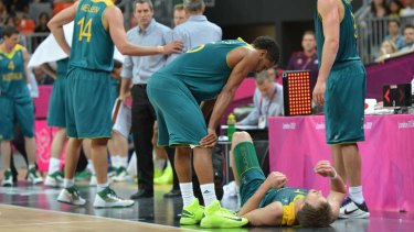 Bust ... the Boomers went down 71-75  against Brazil in their opening match, increasing the likelihood of a quarter-final against the USA.
