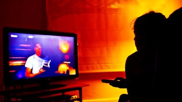 Health view ... Australian study was the first to look at how TV habits affect longevity.