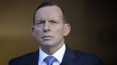 Ready and willing: Tony Abbott.
