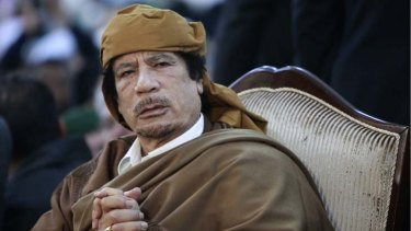 'Gaddafi must leave power so that a new political process can begin.'