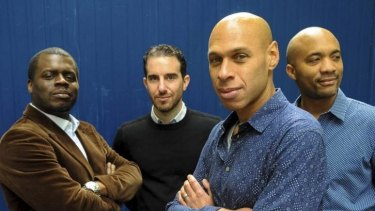 Engaging: (From left to right) Gregory Hutchinson, Aaron Goldberg, Joshua Redman and Reuben Rogers of the Joshua Redman Quartet.