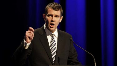 Open ears ... NSW Treasurer Mike Baird.