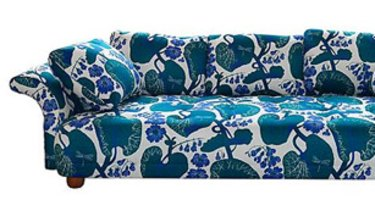 A Josef Frank design couch.