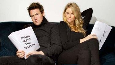 Shane and Liz: Eddie Perfect and Christie Whelan-Browne.