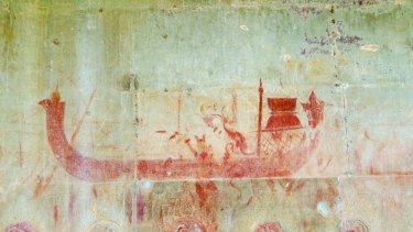 An ANU researcher has unearthed hundreds of hidden wall paintings at Angkor Wat.