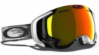 Oakley's Airwave 1.5 goggles are a bit like Google Glass for the snow.