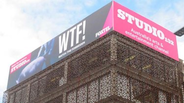 Controversial: the billboard in Kings Cross.