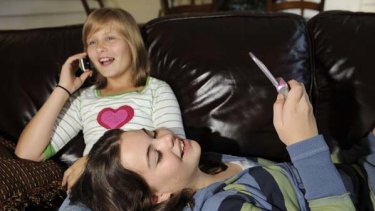 Tech aware . . . parents must keep a close eye on your daughter's communication outlets.