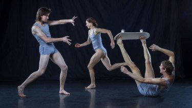 Larissa McGowan's <i>Skeleton</i>.