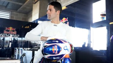"""""""I will apologise but I felt the move was on"""": Jamie Whincup."""