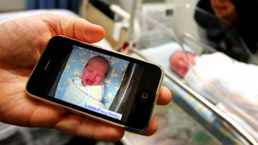 Apple iPhones are sold at a rate of 4.6 per second compared with the current global birth rate of 4.2 births per second.
