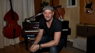 Writer-producer Louis Schoorl, in his Darlinghurst recording studio.