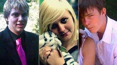 Matthew Prior, Brittany Bramwell and Nicholas Saxby.