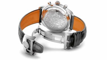The back case of the IWC Laureus edition watch was designed by a child involved in the Sport For Good Foundation.