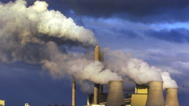 La Trobe Valley's Loy Yang coal-fired power station is Victoria's biggest carbon emitter.