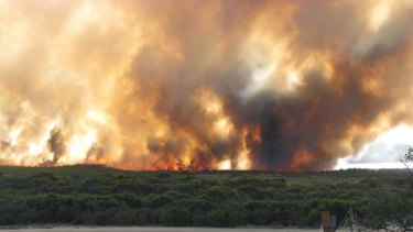 WA Farmers president Dale Park expects the losses from bushfires burning near Esperance are going to be horrific.