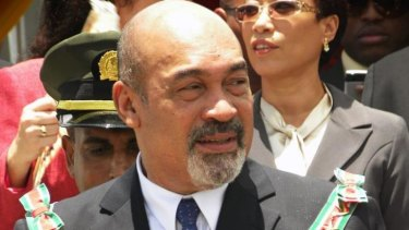 President Desi Bouterse: convicted in absentia for his part in smuggling 474 kilograms of cocaine.