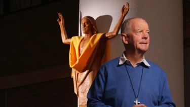 Father Noel Brady, who says he was warned by George Pell not to speak out about child sexual abuse in the Catholic Church.