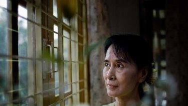 People's favourite ... Aung San Suu Kyi.