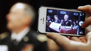 NSA director: General Keith Alexander testifies before a US House Permanent Select Committee.