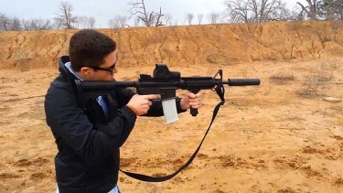 One of Defence Distributed's 3D-printed rifles.