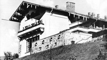 "Hitler's ""Berghof"" (mountain house) near Berchtesgaden, southern Germany."