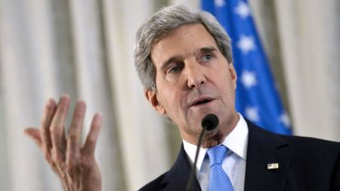 US Secretary of State John Kerry ... ''All of us agree, not one dissenter, that Assad's deplorable use of chemical weapons... crosses an international global red line.''